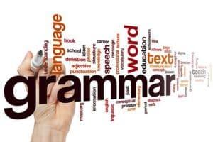 fix my grammar